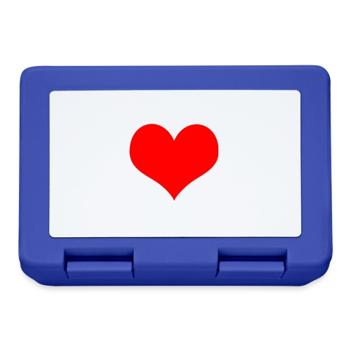 rotes Herz - Brotdose