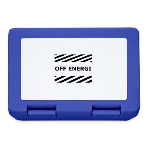 OFF ENERGI officiel merch - Matlåda