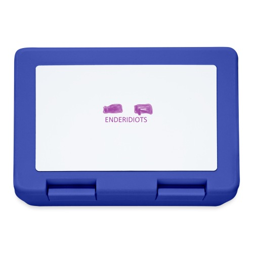 enderproductions enderidiots design - Lunchbox