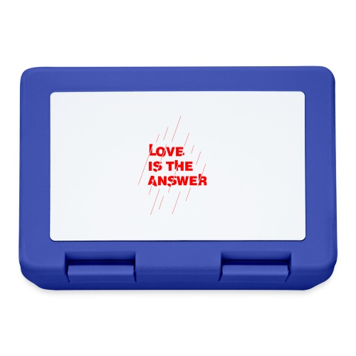 Love is the answer - Lunch box
