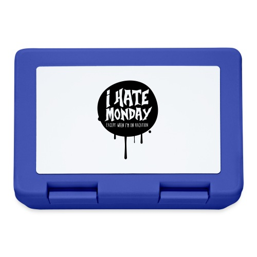 je déteste le lundi - Boîte à goûter.