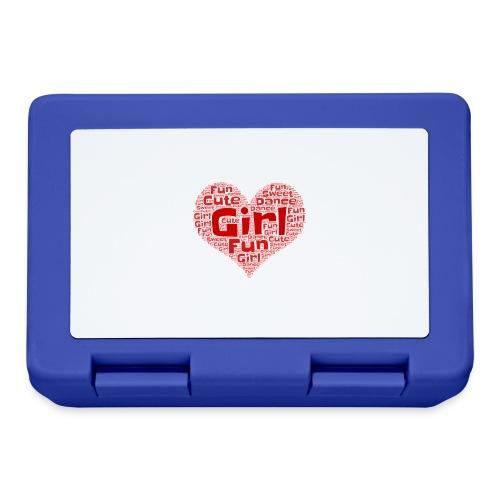 Girl heart - Broodtrommel