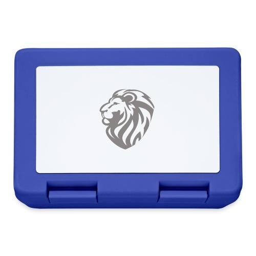Lion grey - Boîte à goûter.