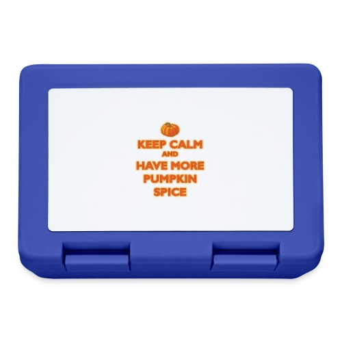 KeepCalmPumpkinSpice - Lunch box
