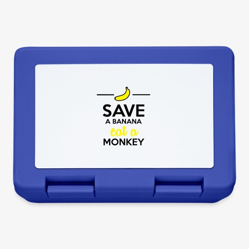 Essen Affen & Bananen - Save a Banana eat a Monkey - Brotdose