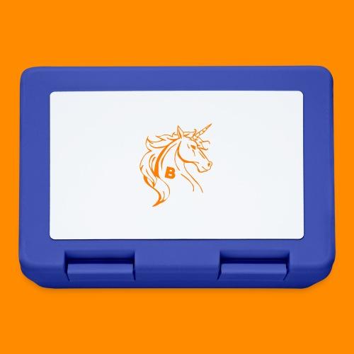 orange biodusty unicorn shirt - Broodtrommel