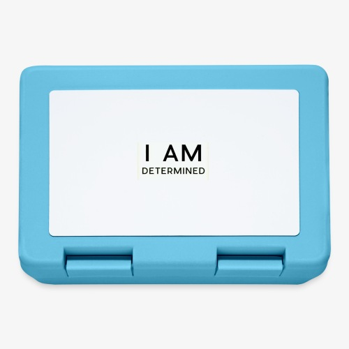 I Am determined - Lunchbox