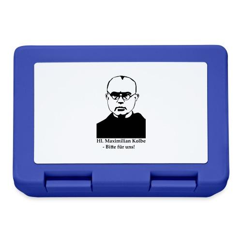 Hl. Maximilian Kolbe - Bitte für uns! - Brotdose