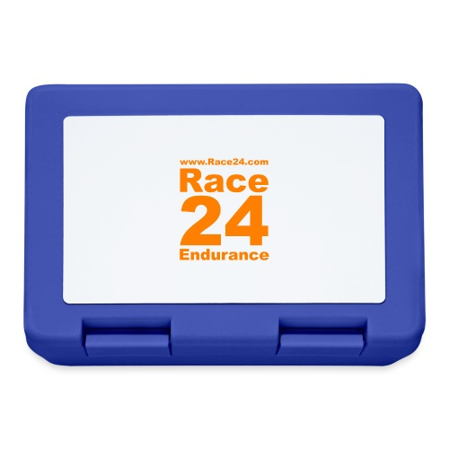 Race24 Logo in Orange - Lunchbox