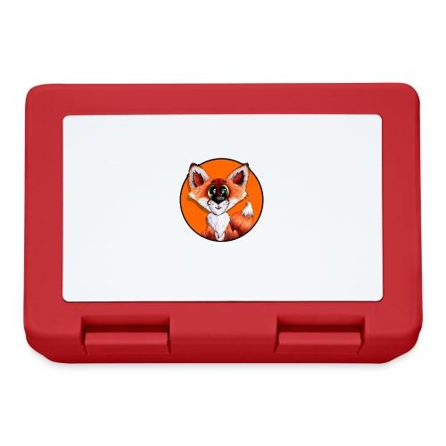 llwynogyn - a little red fox (white) - Madkasse
