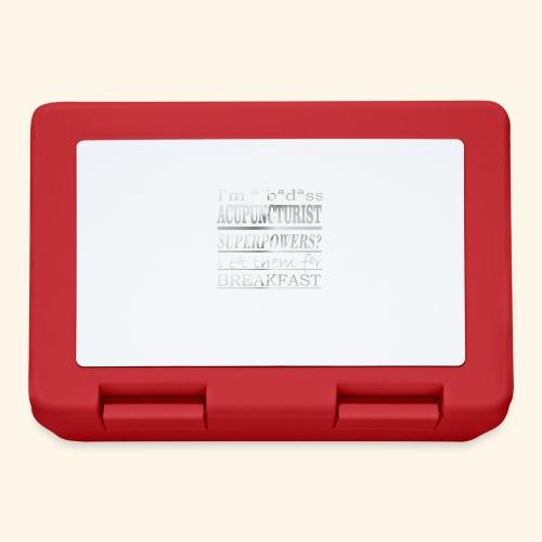 ACUPUNCTURIST - Lunch box