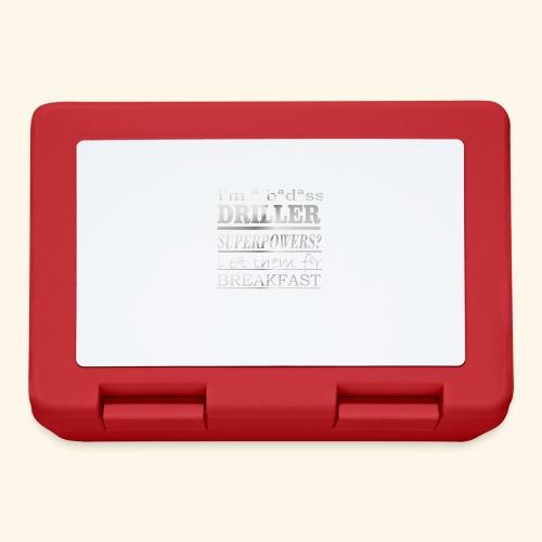 DRILLER - Lunch box