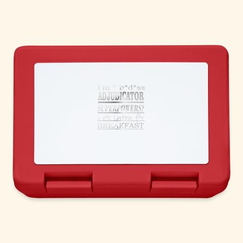 ADJUDICATOR - Lunch box