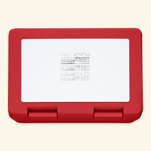 AGRONOMIST - Lunch box