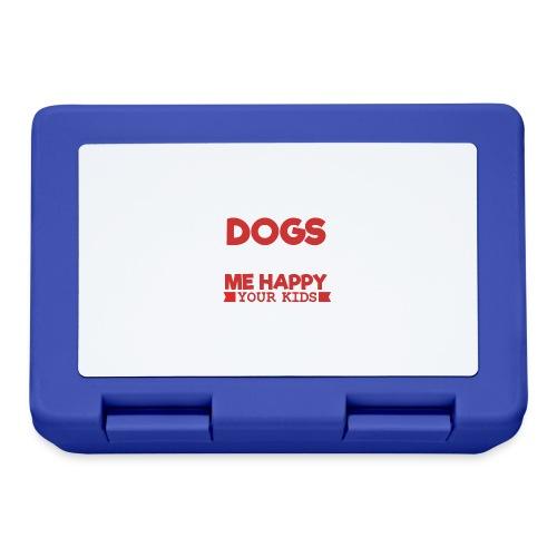 DOGS MAKE ME HAPPY - Brotdose