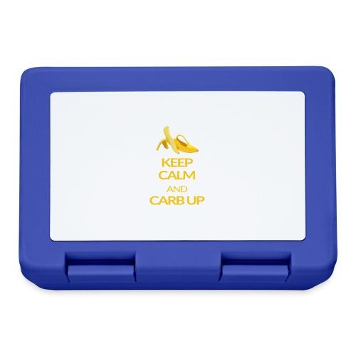 KEEP CALM and CARB UP - Brotdose