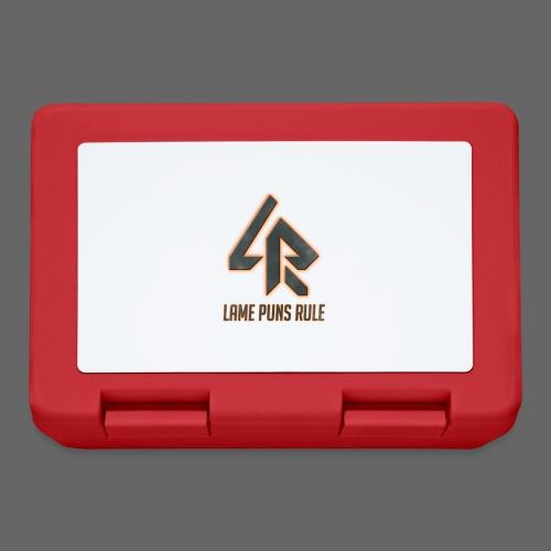 Lame Puns Rule: Logo - Lunchbox