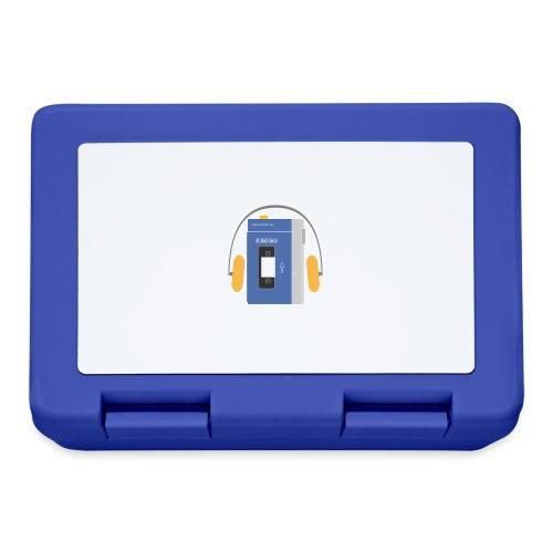 Stereo walkman in blue - Lunchbox