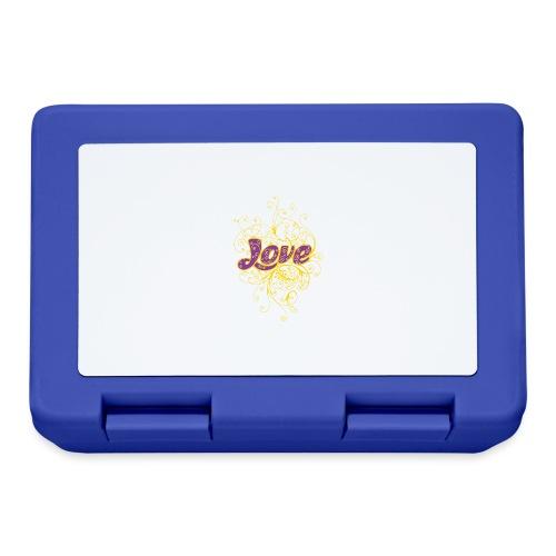 LOVE VIOLA CON DECORI - Lunch box