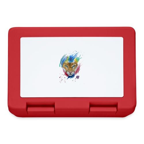 Mountain Lion Watercolors Nadia Luongo - Lunch box