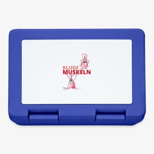 Kluge Muskeln - Brotdose