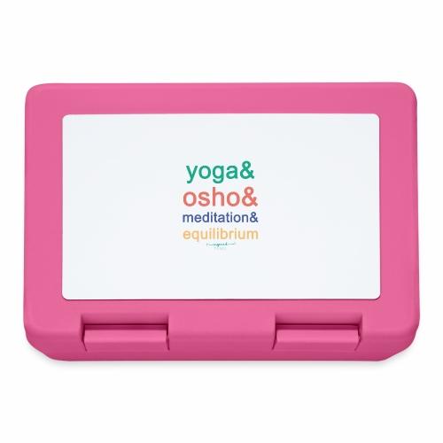 Yoga& Osho& Meditation& Equilibrium - Lunchbox