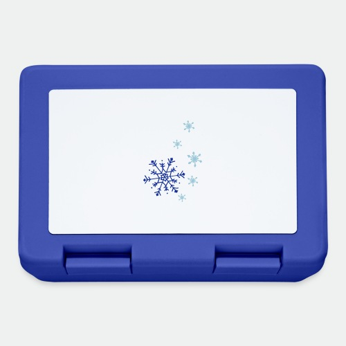 Snowflakes falling - Lunchbox
