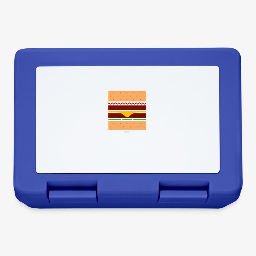 Square Burger - Lunch box