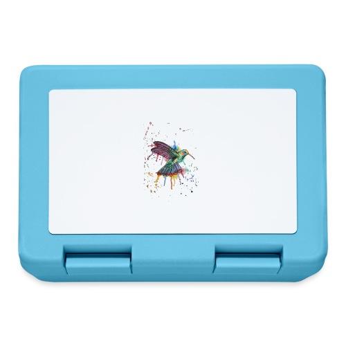 Hummingbird Watercolors Nadia Luongo - Lunch box