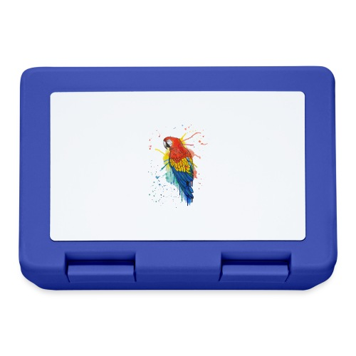Parrot Watercolors Nadia Luongo - Lunch box