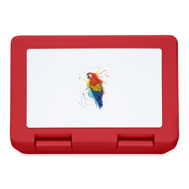 Parrot Watercolors Nadia Luongo
