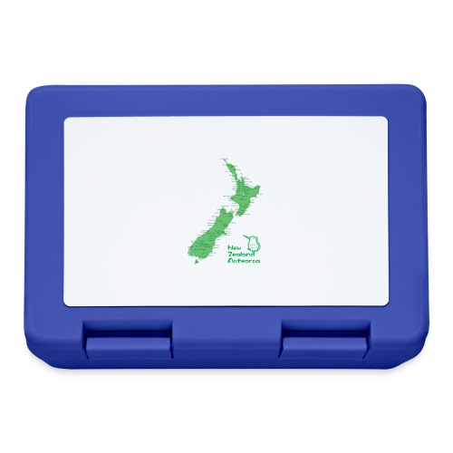 New Zealand's Map - Lunchbox