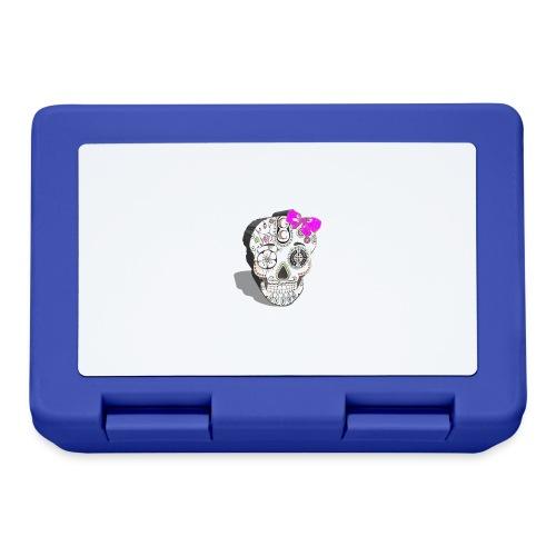 Tête de mort mexicaine 3D - Boîte à goûter.