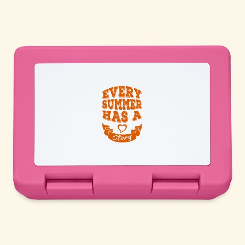 Every summer has a story - Lunchbox
