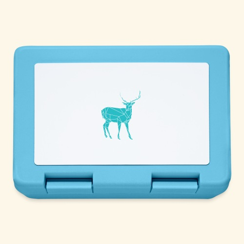 Blue Reindeer - Lunchbox