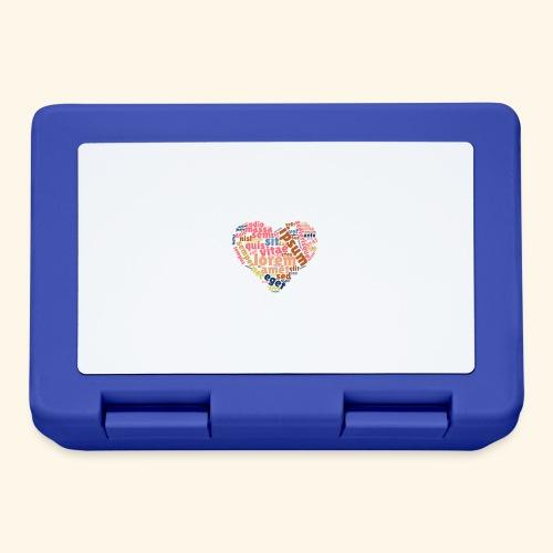 Lorem Ipsum Heart - Lunchbox