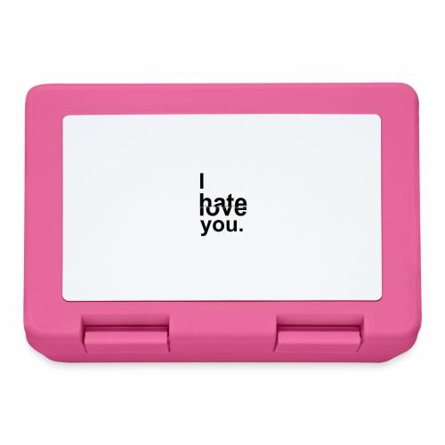 love hate - Lunchbox
