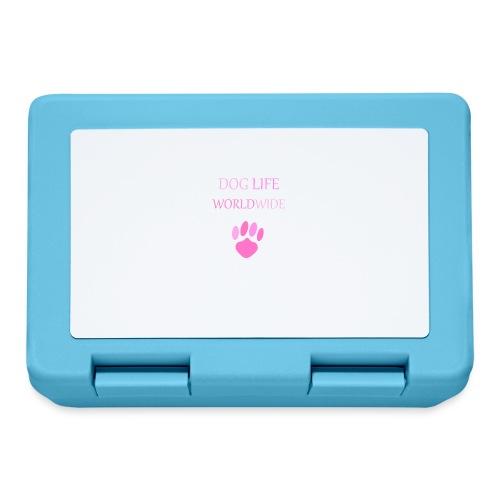 Pink Paw Print - Lunchbox