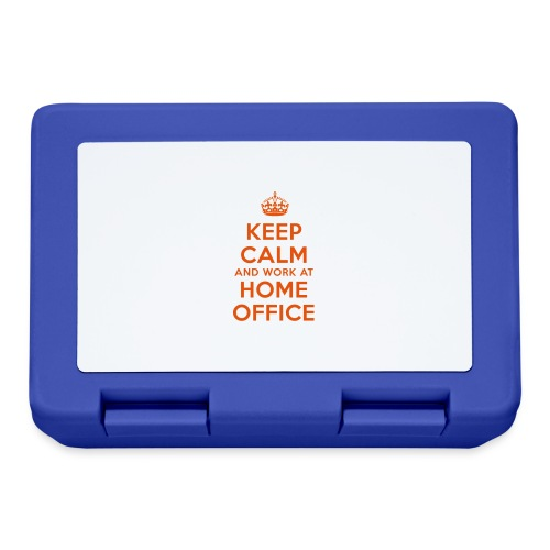 KEEP CALM and work at HOME OFFICE - Brotdose