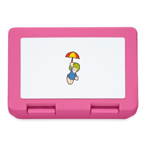 lemming parapluie - Boîte à goûter.