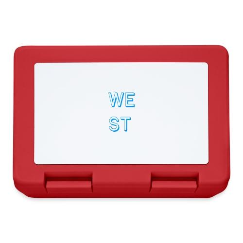 WEST LOGO - Lunch box
