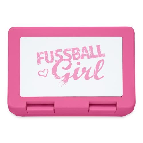 Fußball Girl - Brotdose