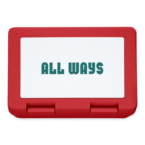 All Ways - Lunchbox