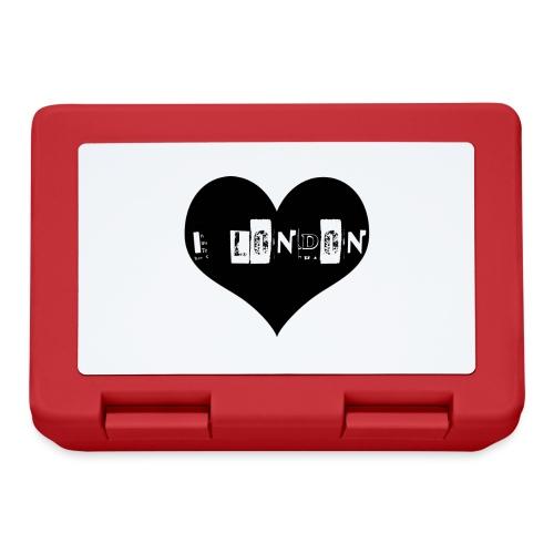 I Heart London - Lunchbox