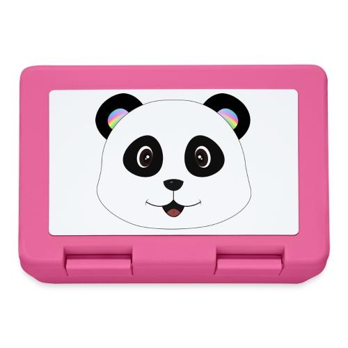 panda rainbow - Fiambrera