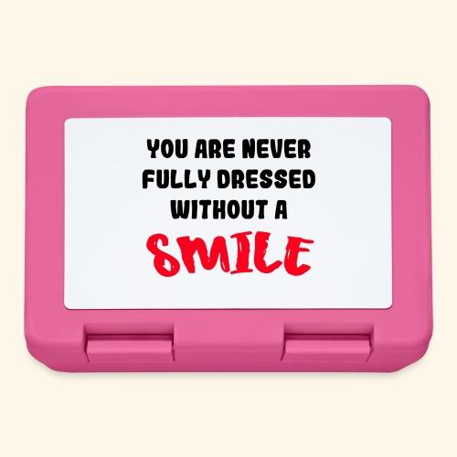 Niet aangekleed zonder glimlach 001 - Broodtrommel