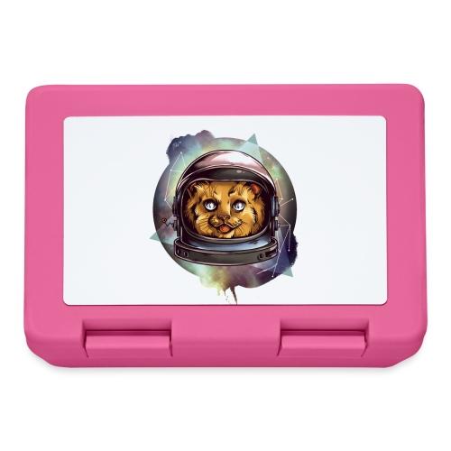 Cute astronaut kitten - Lunchbox