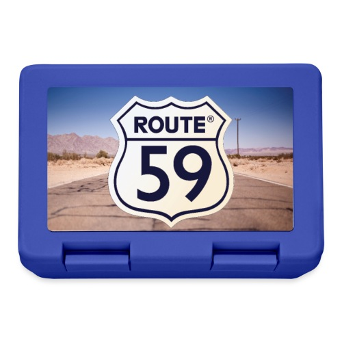Route 59 met achtergrond - Broodtrommel