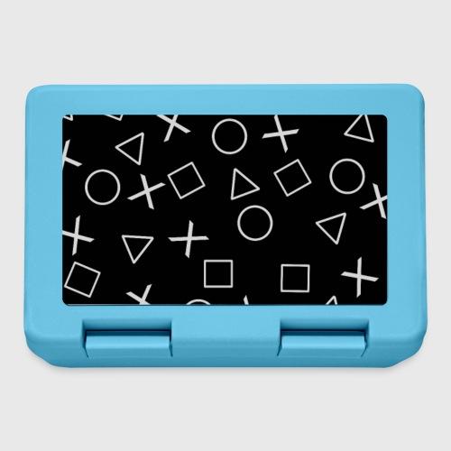 Videogiocatore nero - Lunch box