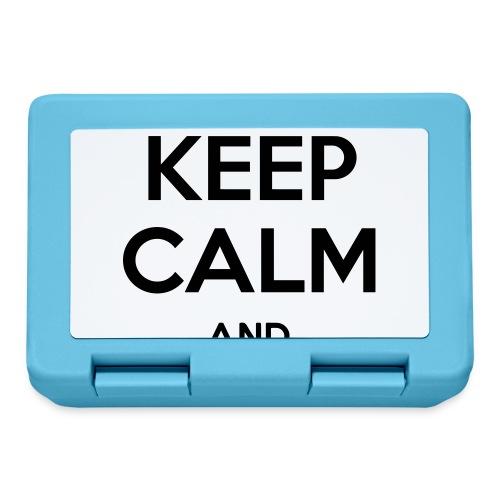 Keep Calm and CTRL+S - Boîte à goûter.
